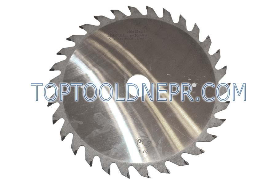 Пильный диск Paritet 250/32/3,2  Z30