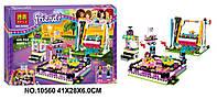 Конструктор Bela 10560 Friends Парк развлечений: Аттракцион Автодром 429 деталей, фото 1
