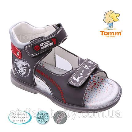Дитяче літнє взуття оптом. Дитячі босоніжки бренду Tom.m для хлопчиків (рр. з 21 по 26), фото 2