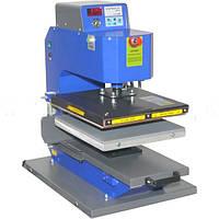 Автоматический термопресс  SСHULZE BPL PNEU с выдвижным столом  40смх50см, фото 1