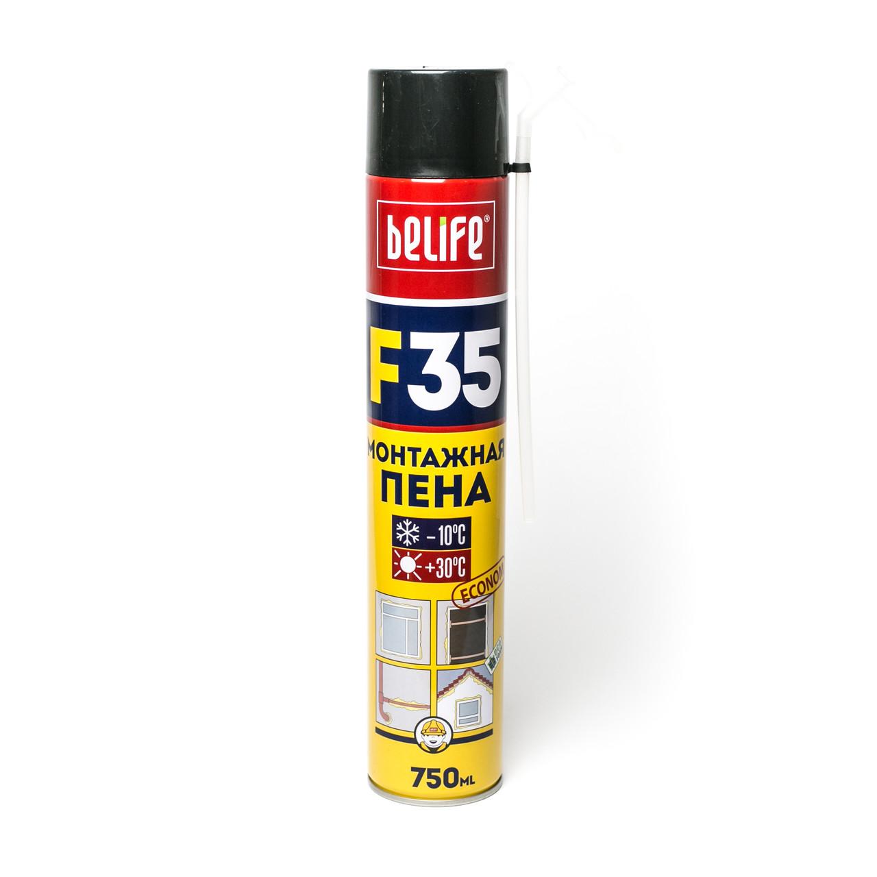 Всесезонная монтажная пена. BeLife F35