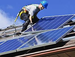 Монтаж домашних и промышленных солнечных электростанций