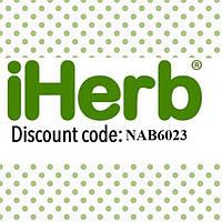 Код на скидку до -10% на все товары на сайте iherb.com