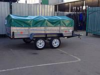 Двухосный прицеп Лев-250 доставка по всей Украине
