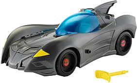 Mattel Машинка бэтмобиль Лига Справедливости DC Justice League Action Attack Trap Batmobile Vehicle 4.5