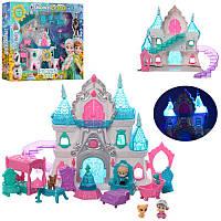 Замок Фроузен, принцессы, 25см, музыка (англ.), свет, мебель, фигурки, животные, BL8805FB