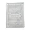 Пластиковая решетка МиниМакс 265х190 белая, фото 2