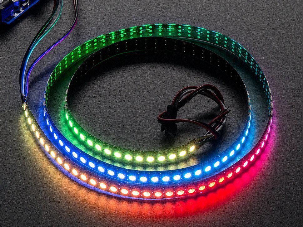 Премиумная разноцветная(RGB) LED лента 5050-30 IP20