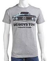 Оригинальная мужская  футболка PHILIPP PLEIN с рисунком
