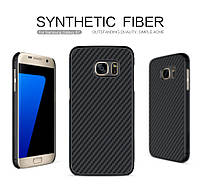 Пластиковая накладка Nillkin для Samsung G930F Galaxy S7 Synthetic Fiber series /чехол для САМСУНГА галакси С7/930/