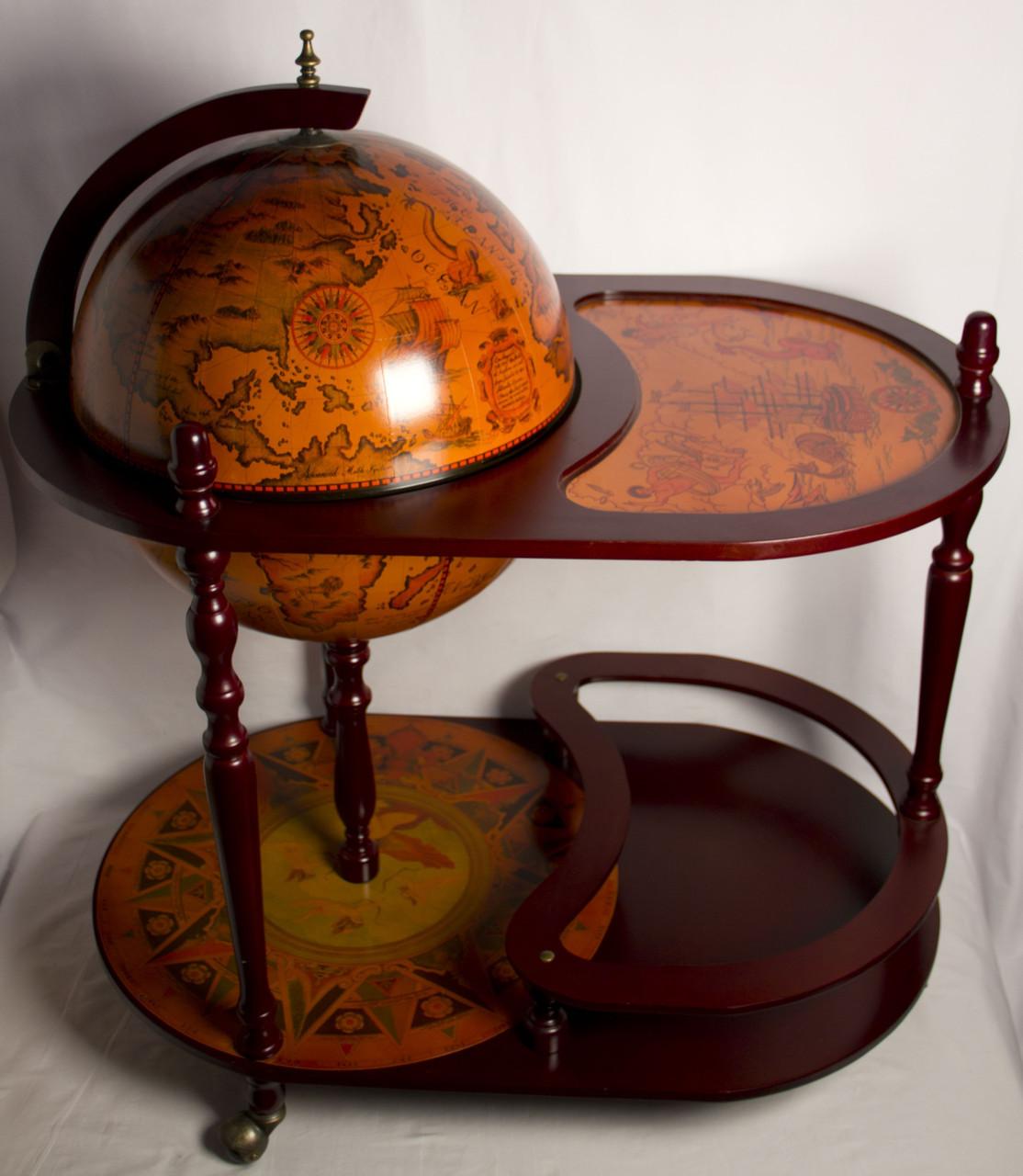 Глобус бар підлоговий зі столиком 42004 R