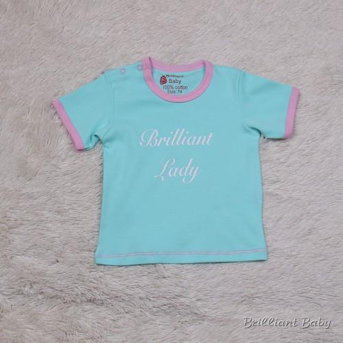 Ексклюзивна футболка Lady (ментол)