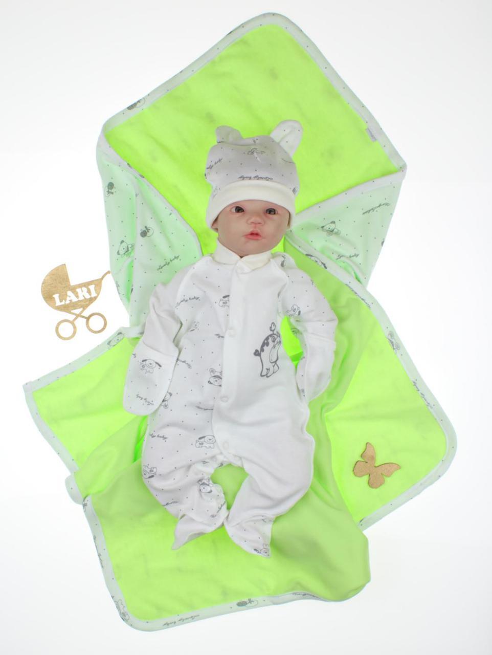 """Летний набор для новорожденных """"Baby"""", 3-х предметный"""