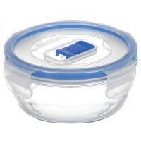 Pure Box Контейнер для еды круглая 920мл ударопрочное стекло Luminarc