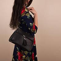 Женская сумочка через плечо Amanda (GH542 black)
