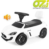 Машинка-каталка Maserati (белая)