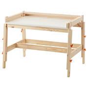 ФЛИСАТ Дитячий письмовий стіл, регульований 20273594 IKEA, ІКЕА, FLISAT