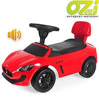 Машинка-каталка Maserati (красная)