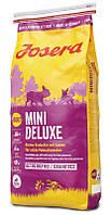 Josera MiniDeluxe 15 кг с ягненком для  собак мелких пород + Vitomax Gold 35 см ошейник от блох