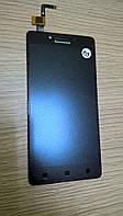 Модуль Lenovo A6000/K3/A6010 (K30-T)/(K30-W) black (#525) [ПРОВЕРЕННЫЙ 100%]