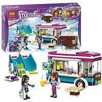 """Конструктор Bela Friends 10729(Lego Friends 41319)"""" Горнолыжный Курорт: Фургончик С Горячим Шоколадом"""" 254 дет"""