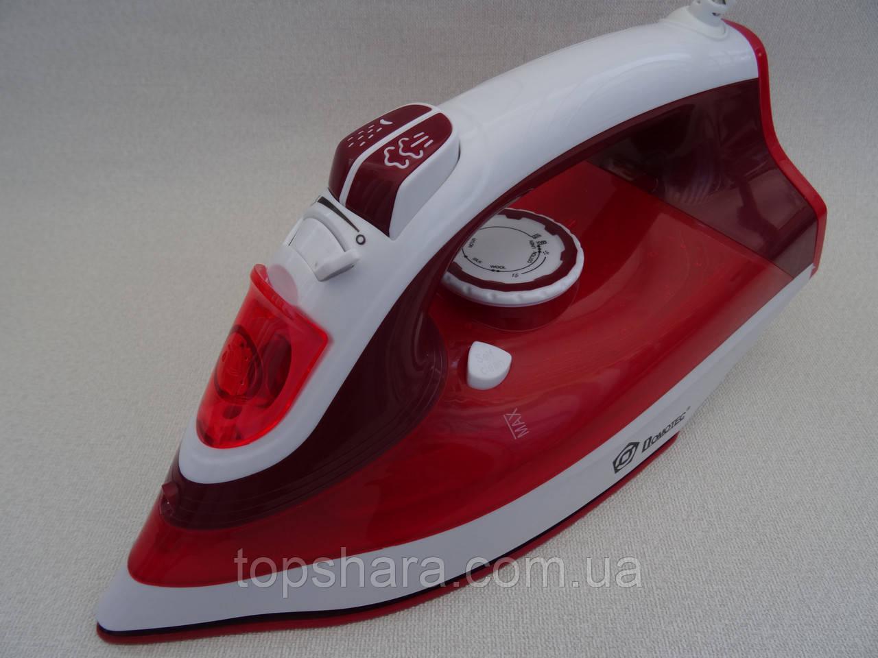 Утюг Domotec MS-2298 керамика 2200вт, красный