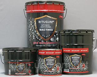 Мастика BITUGUM битумно-каучуковая 5кг