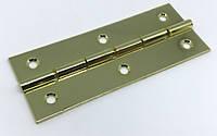 Петля для мебели золото 65х25  мм