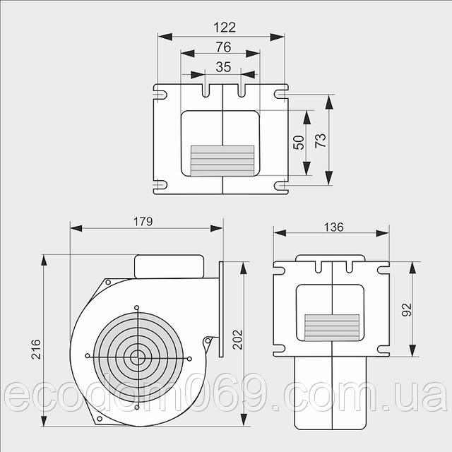 Схема Польского вентилятора ВПА 117