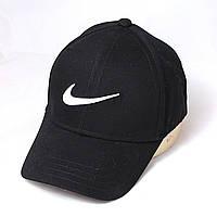 Бейсболка Nike без регулировки черн+бел