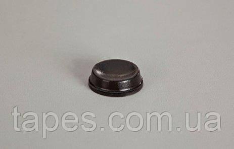 Бампер с углублением BS-18 (12,7мм х 3,5мм) черный цвет, Bumper Specialties Inc.