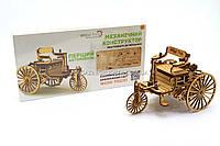 Бесплатная доставка. Деревянный механический конструктор Wood Trick Машина.Техника сборки - 3d пазл