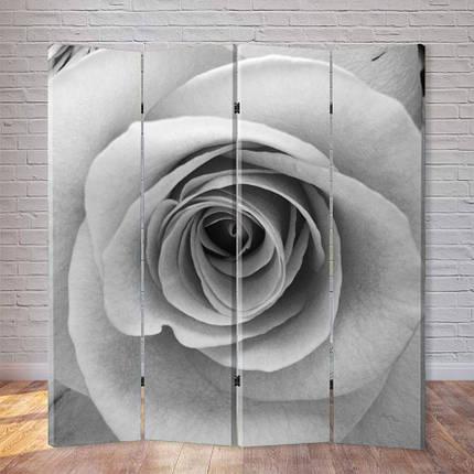 """Ширма """"Черно-белая роза"""", фото 2"""