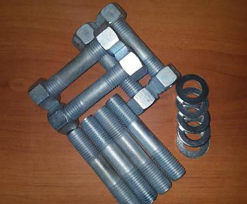 ГОСТ 22042-76 Шпилька М16 для деталей с гладкими отверстиями, фото 2