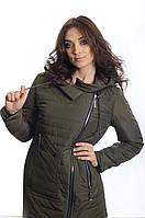 Куртка женская деми Snow Owl 18C8716 хаки