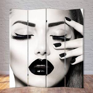 """Ширма """"Черно-белый макияж"""""""