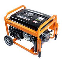 Бензогенератор с зарядным устройством 8,5 кВт, фото 3
