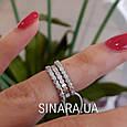 Серебряное кольцо на фалангу - Кольцо на флангу серебро , фото 3