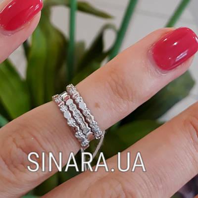 Серебряное кольцо на фалангу - Кольцо на флангу серебро