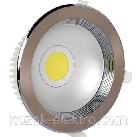 Светильник точечный HELEN - 10 Вт  LED (HL696L) хром матовый 4200K