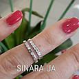 Кольцо на фалангу серебряное - Фаланговые кольца серебро, фото 3