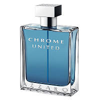 Тестер Azzaro Chrome United edt 100 мл (оригинал)