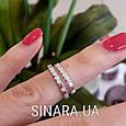 Кольцо на фалангу серебряное - Фаланговые кольца серебро, фото 2