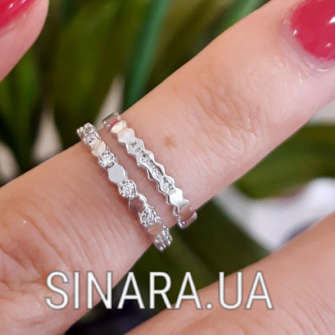 Кольцо на фалангу серебряное - Фаланговые кольца серебро
