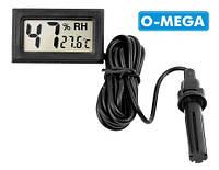 Гигрометр влагомер термометр цифровой с выносным датчиком