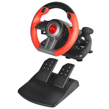 Проводной руль Gemix WFR-3 PC Black/Red (WFR-3), фото 2