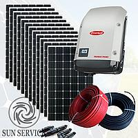 """Сонячна електростанція 3 кВт """"Зелений тариф"""", комплект преміум"""