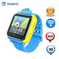 Умные детские часы-телефон Q200 с GPS