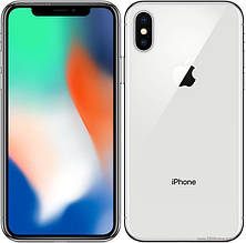Apple iPhone X 256GB Silver (MQAG2), фото 3