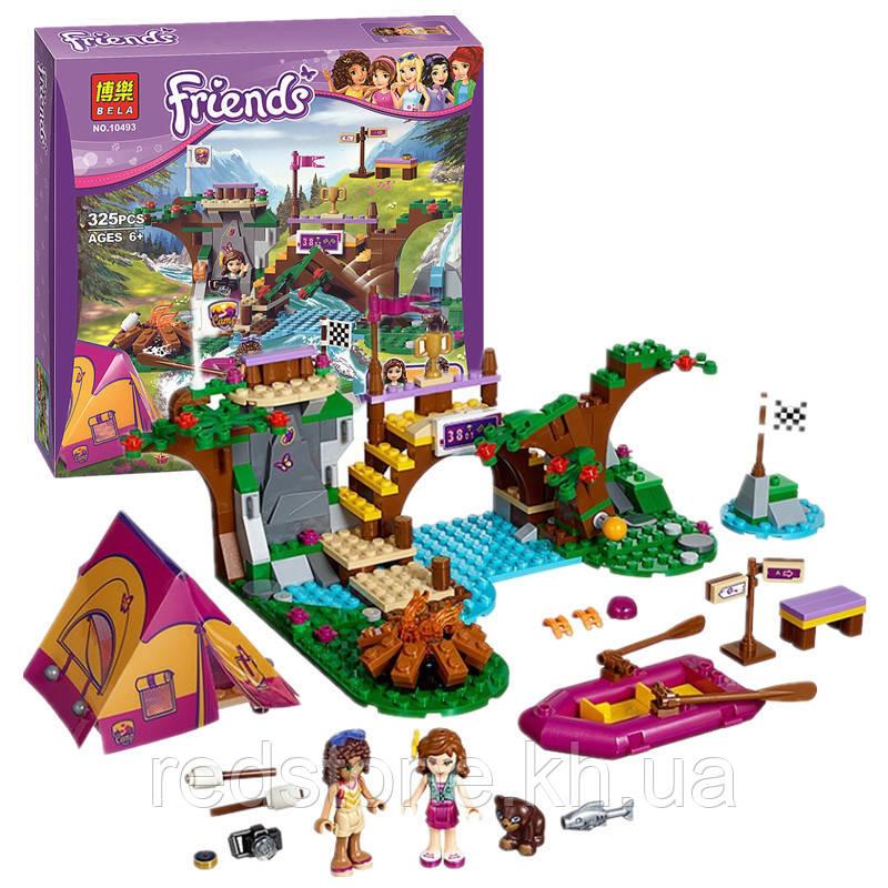 """Конструктор Bela Friends 10493  ( LEGO Friends 41121) """"Спортивный лагерь¨ 325 деталей"""